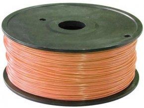 Tlačová struna 1,75mm svetlohnedá, materiál ABS, cievka 1kg / 3D tlač /