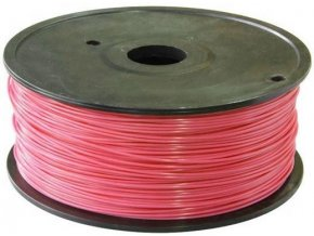 Tlačová struna 1,75mm ružová, materiál PLA, cievka 1kg / 3D tlač /