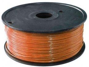 Tlačová struna 1,75mm hnedá, materiál PLA, cievka 1kg / 3D tlač /
