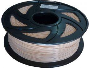 Tlačová struna 1,75mm kože, materiál PLA, cievka 1kg / 3D tlač /