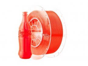 Tlačová struna Swift PET-G oranžová-sklo, Print-Me, 1,75mm, 1kg