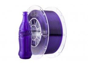 Tlačová struna Swift PET-G fialová - sklo, Print-Me, 1,75mm, 1kg