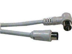 Účastnícka šnúra-anténny kábel 1m, kombinované konektory