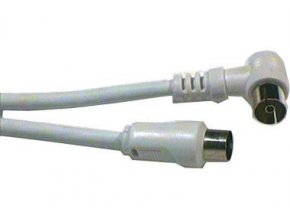 Účastnícka šnúra-anténny kábel 5m, kombinované konektory