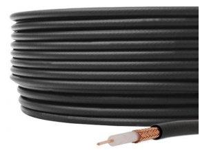 Koax 50ohm RG213-U 10,2mm, balenie 100m