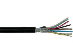 Tienený kábel osmižilový - 8x, spoločné tienenie