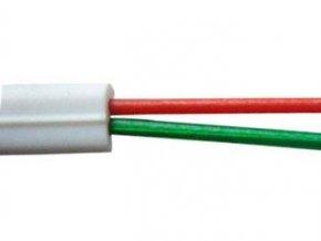 Telefónny kábel - 2linka biela