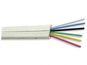 Telefónny kábel - 6linka biela