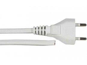 Flexo s volným koncem 2x0,5mm 3m bílá