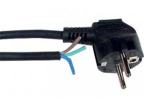 Flexo s volným koncem 3x1mm 3m černá