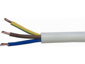 Kábel 3x2,5mm2 H05VV-F (CYSY3x2,5mm)