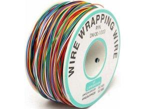 Vodič - drôt 0,05mm2 Cu, 8 farieb, balenie 160m