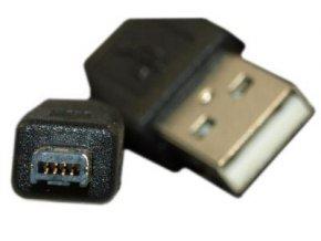 Kábel USB 2.0 konektor USB A / USB Mini-B (4 piny) 1,8m