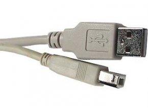 Kábel USB 2.0 konektor USB A / USB B, 3m