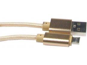 Kábel USB 2.0 konektor USB A / Micro-USB 25cm