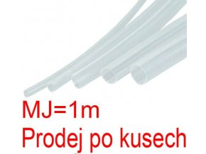 Zmršťovacia bužírka 1,5 / 0,75mm číra, balenie 1m