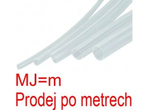 Zmršťovacia bužírka 2,0 / 1,0mm číra