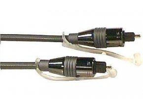 Kábel optický TOSLINK-TOSLINK 5mm / 3m kovové konek