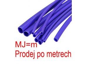 Zmršťovacia bužírka 2,0 / 1,0mm modrá