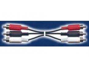 Kábel 3xCinch-3xCinch 5m