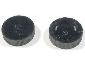 Prístrojový gombík 22x6mm na hriadeľ 4mm