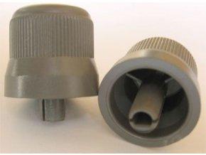 Prístrojový gombík 20x25mm, hriadeľ = 4mm