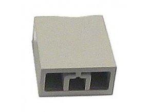 Hmatník pre isostat svetlo sivý 15x17x8mm