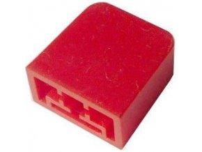 Hmatník pre isostat červený 15x15x8mm