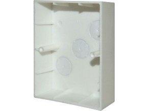 Krabice na omítku pro dvojzásuvku PRAKTIK 4FA24952