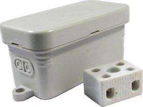 Inštalačný krabička JBC1, 80x35x40mm vrátane svorkovnice