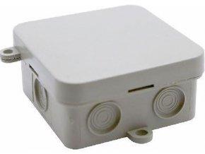 Inštalačný krabička JBC2, 70x70x35mm, vrátane svorkovnice