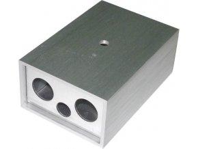 Krabička hliníková dvojdielna 71x50x30mm