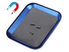 Hliníková miska 108x90x10mm s magnetickou podložkou