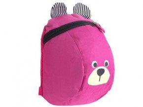 Detský batôžtek medvídek- ružový