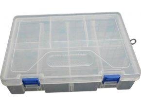 Krabička na součástky 234x168x62mm 16sekcí, 2 patra
