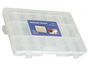Krabička na súčiastky 275x190x44mm 18sekcí