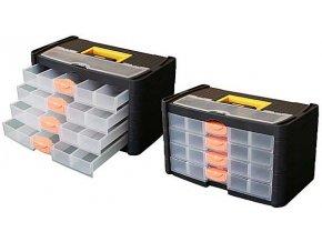 Kufor na súčiastky so zásuvkami 42x23x24cm