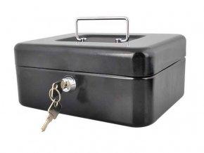 Prenosná schránka na peniaze - pokladnička