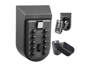 Bezpečnostná schránka / trezor na kľúče s kódovým zámkom