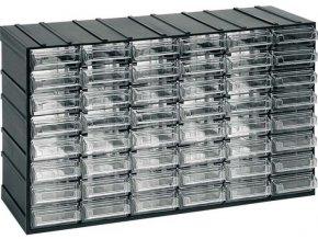 Závesná skrinka stohovacie 382x230x148mm - 48 krabičiek, ArtPlast 601