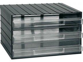 Závesná skrinka stohovacie 382x290x230mm - 3 krabičky, ArtPlast 703