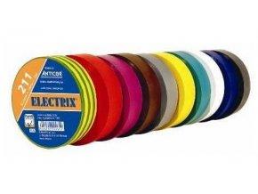 Izolačná páska 0,13x15mmx10m ANTICOR - žlto-zelená