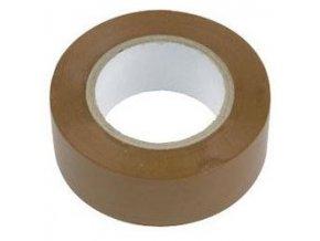 Izolačná páska 0,13x19mmx10m hnedá