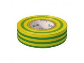 Izolačná páska 0,13x19mmx10m zeleno / žltá