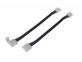 Spojka pre LED pásiky káblová RGB 10mm