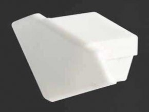 Záslepka PVC TAN - C5 k Alu lištám pre LED pásiky