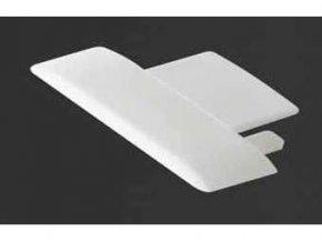 Záslepka PVC TAKO k Alu lištám pre LED pásiky