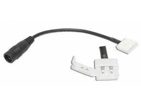 Konektor napájecí pro LED pásky 2,1/5,5, pásek 8mm