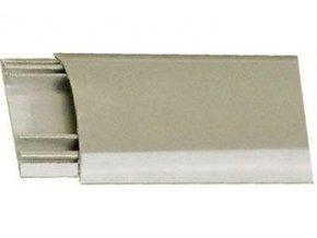 Prechodová lišta pre káble šedá, š = 40mm, v = 9,5mm