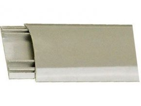 Prechodová lišta pre káble šedá, š = 60mm, v = 13mm